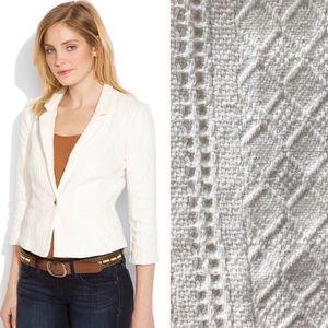 Lucky Brand Lynwood Textured Knit Blazer Sz. L